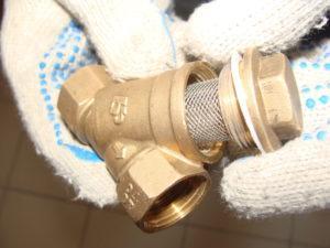 Механический фильтр грубой очистки