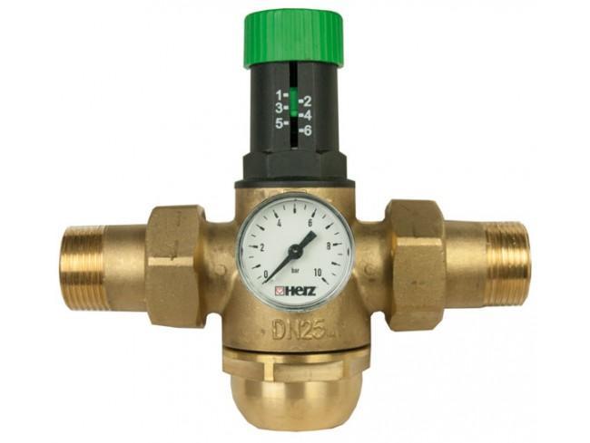 Регулятор давления горячей воды