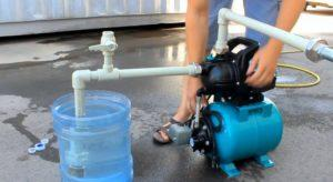 Водяной насос не качает жидкость