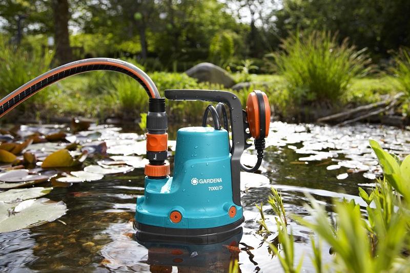Дренажный насос перекачивает жидкость с загрязнениями