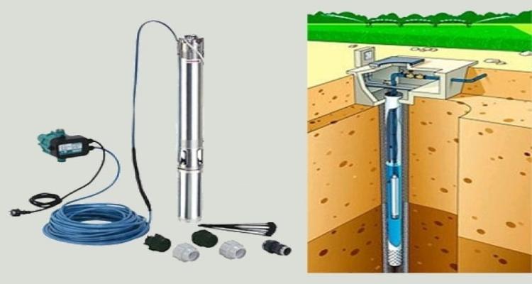 Использование насоса для скважины