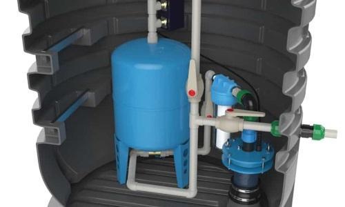 Кессон для скважины выполняет роль защиты
