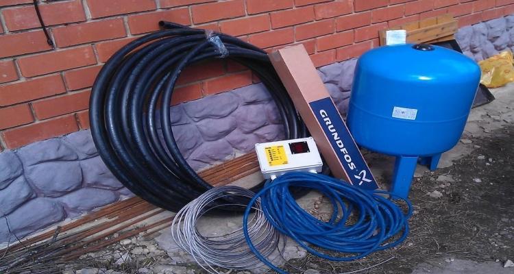 Подготовка к монтажу насосного оборудования в скважину
