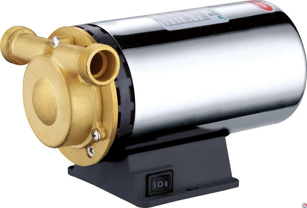 Если в водопроводе снижается напор воды, рекомендуется установить насос для повышения давления
