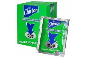 Chirton Чистые водостоки средство от засоров труб