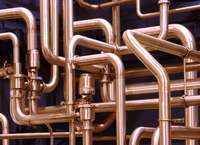 Преимущество медных труб для водопровода