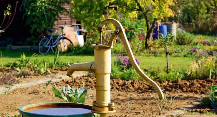 Проведение воды в дом с помощью скважины
