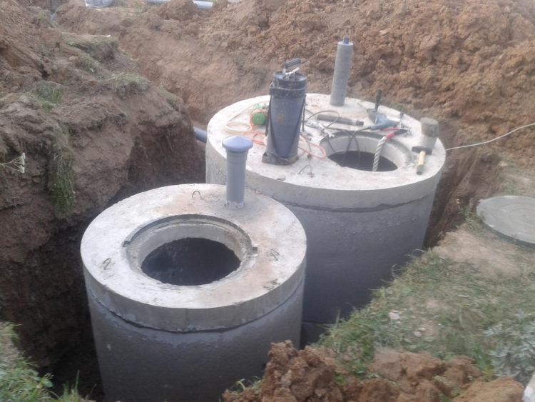 Из бетонных колец септик