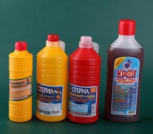 Химические средства для прочистки труб