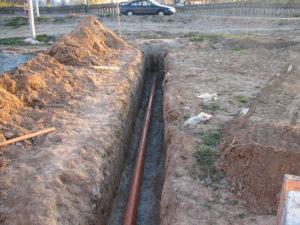 Магистраль водопровода