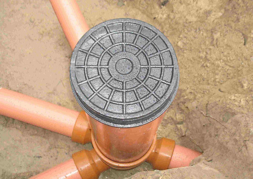 Колодец смотровой для канализации