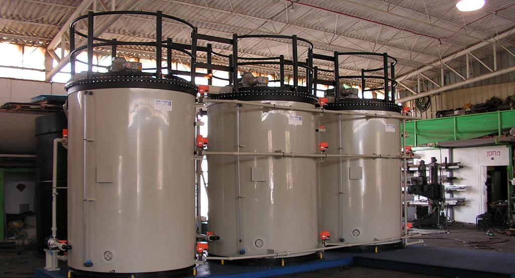 Установка для химической очистки воды