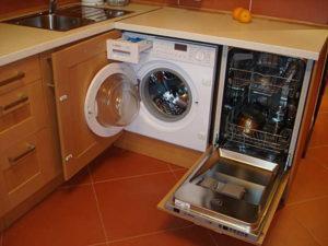 Установка посудомойки в шкаф