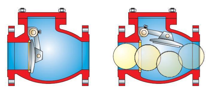 Обратный клапан на схеме