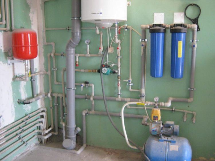 Типовые решении при выборе диаметра труб для водоснабжения