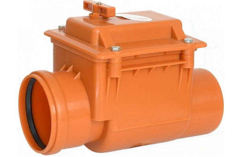 Обратный клапан на канализацию