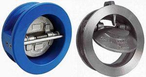 Межфланцевый обратный клапан для канализации
