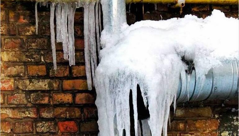 замерзла канализация в частном доме что делать