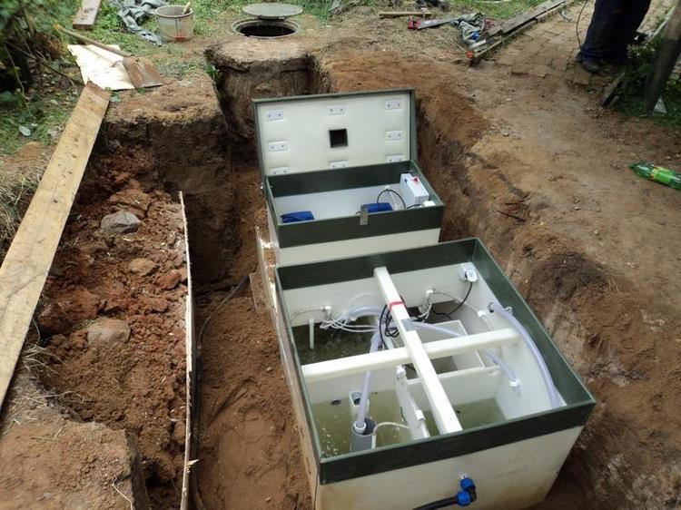Система канализации «Топас»