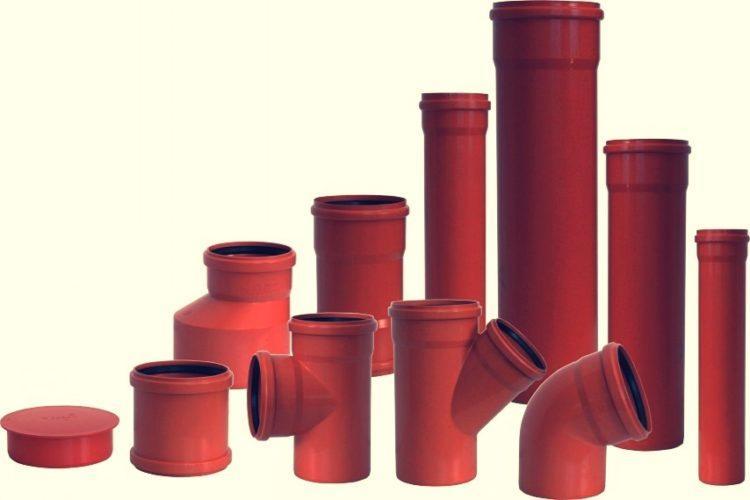 Для канализации трубы из пвх