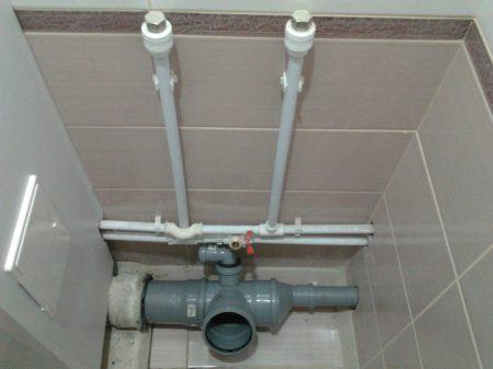 канализация в квартире - замена своими руками