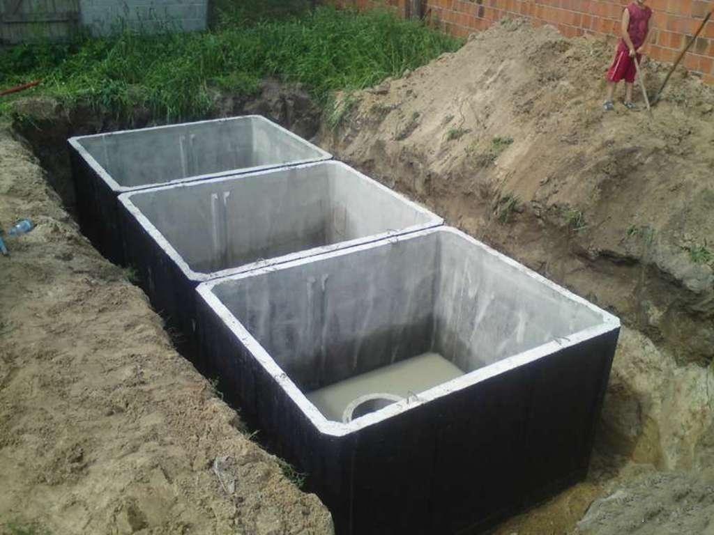 Септик бетонный для частного дома