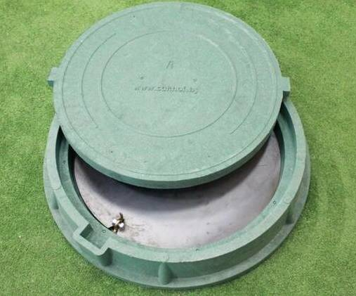 Запорное устройство на канализационном люке