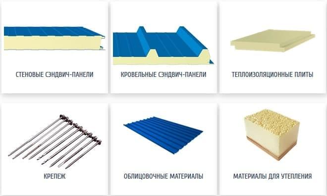 Сэндвич-панели PIR и теплоизоляционные плиты от производителя
