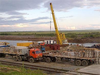 Логистические услуги на полуострове Ямал