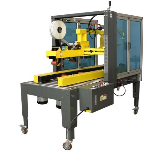 Автоматическая упаковка коробок на производстве