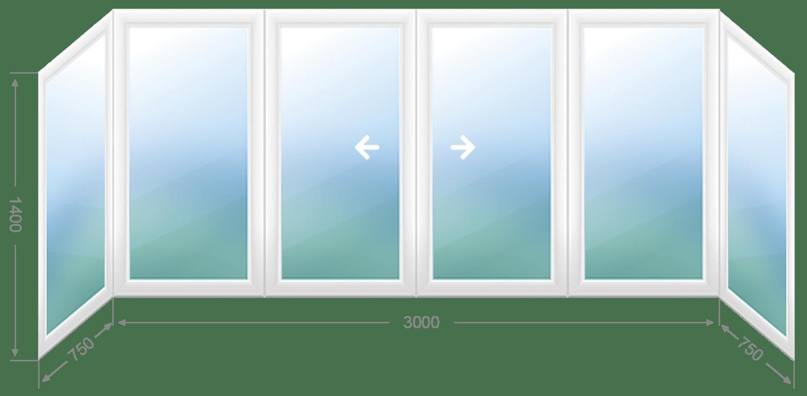 Основные преимущества раздвижных пластиковых окон