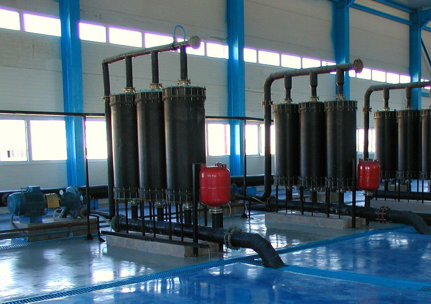 Организация мероприятий по подготовке и очистке воды